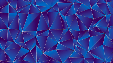 Trendy Low Poly with Indigo and Violet Backdrop