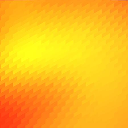 Warm Orange Yellow Trendy Mosaic Backdrop Design