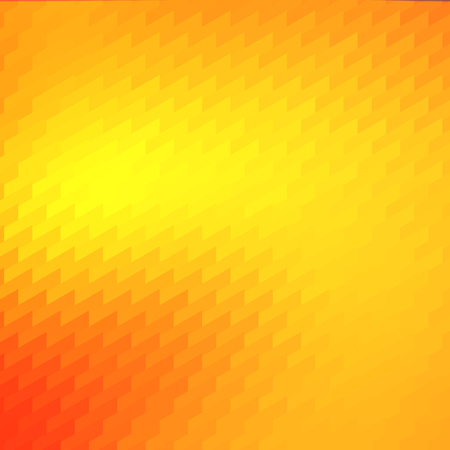 Warm Orange Yellow Trendy Mosaic Backdrop Design