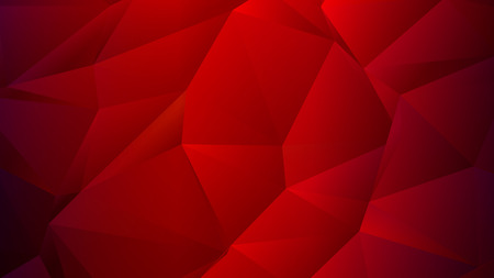 Dark Red Scarlet Low Poly Trendy Backdrop