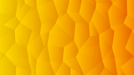 Warm Orange Trendy Low Poly Backdrop Design