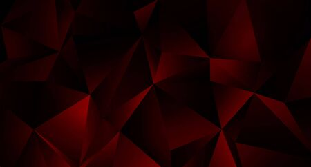Trendy Low Poly Black Background for Your Business and Advertising