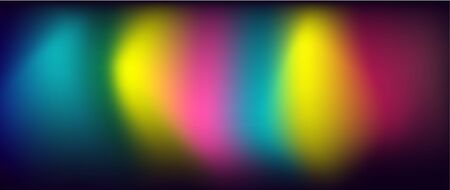 Glow Light Effect. Modern Abstract Backdrop. Creative Colorful Wallpaper  イラスト・ベクター素材