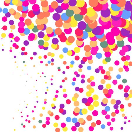 Abstract Confetti Background. Celebrate Vector Design Element. Decoration. 写真素材 - 136940643