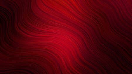Wave abstract background. in red colors. Curve backdrop