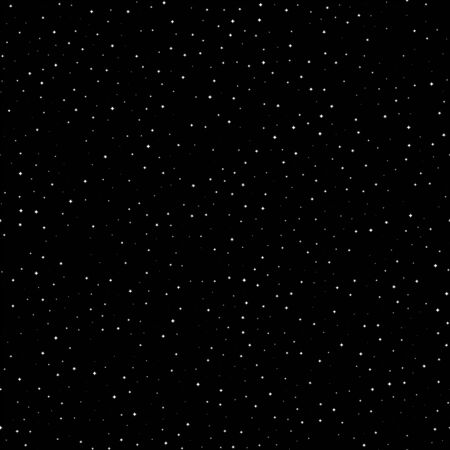 Seamless pattern with space graphic elements on dark background. Decorative starry 写真素材 - 144903949