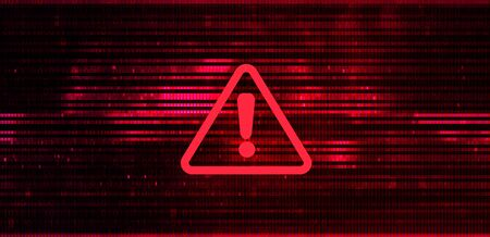 Abstract Vector Red Background. Malware, or Hack Attack Concept 写真素材 - 149399466