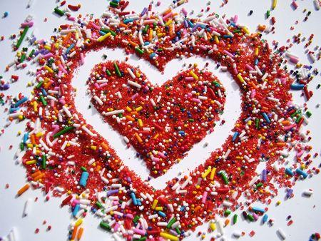Sprinkled with Love Фото со стока