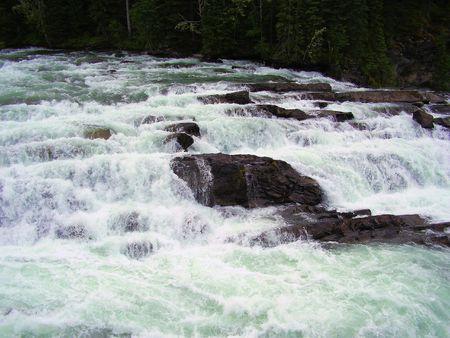 the rapids: Kinuseo Rapids