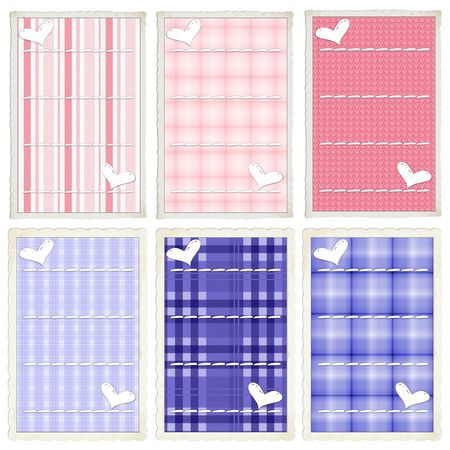 element: Princess and  Blue Add On Journal Tags