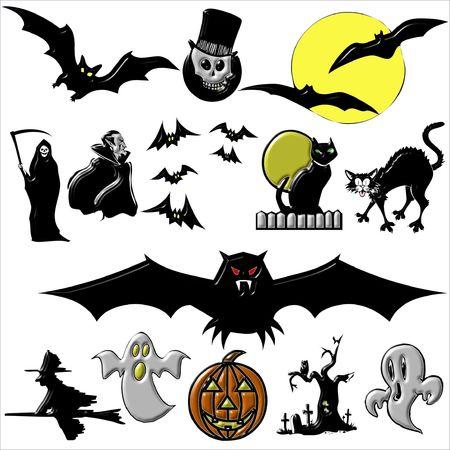 Halloween Scrap Elements photo
