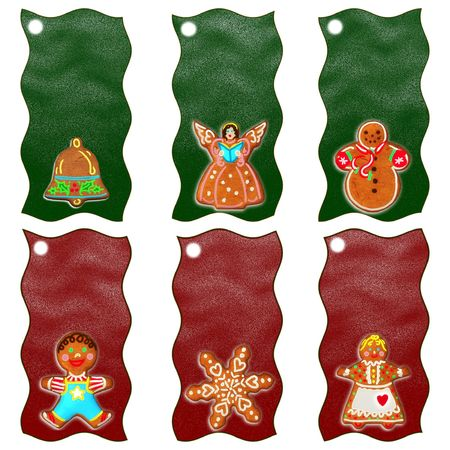 Merry Christmas Gift Tags photo