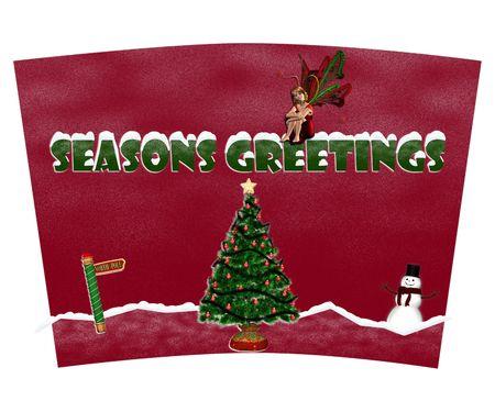 Merry Christmas Coffee Tumbler Sjabloon