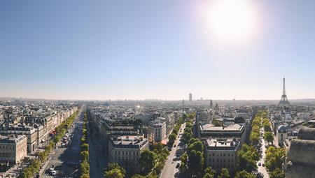 scenary: French panorama Stock Photo