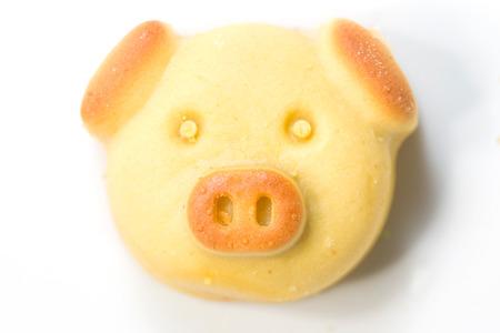 chinese pig: Cerdo chino cookies tradional Foto de archivo