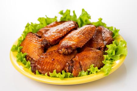 Braised duck gizzard, Chinese cuisine. photo