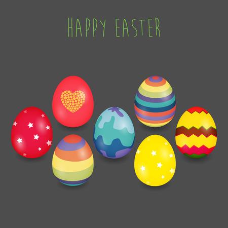 Easter eggs design Vector