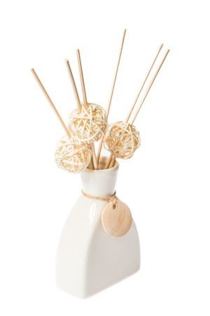 air diffuser: aroma sticks on a white background