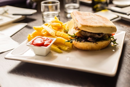 very good: club sandwich very good shot Stock Photo