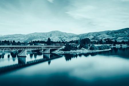 wakatipu: New Zealand. Lake Wakatipu
