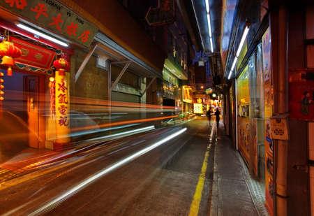 alley in Macao Editorial