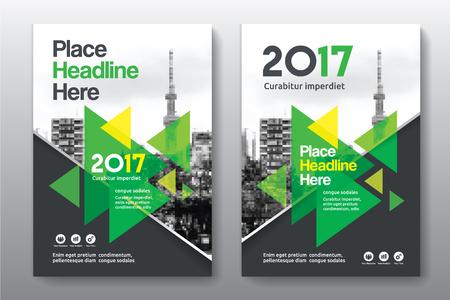Sfondo di città Business Book Cover Design Template in A4. Può essere adattabile a Brochure, Report annuale, Rivista, Poster, Presentazione aziendale, Portfolio, Flyer, banner, sito web. Archivio Fotografico - 76543606