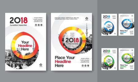 Sfondo di città Business Book Cover Design Template in A4. Può essere adattabile a Brochure, Report annuale, Rivista, Poster, Presentazione aziendale, Portfolio, Flyer, banner, sito web. Archivio Fotografico - 80906732