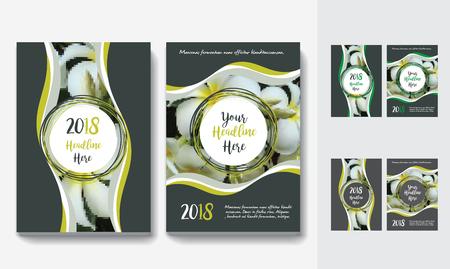 Sfondo di città Business Book Cover Design Template in A4. Può essere adattabile a Brochure, Report annuale, Rivista, Poster, Presentazione aziendale, Portfolio, Flyer, banner, sito web. Archivio Fotografico - 80906731