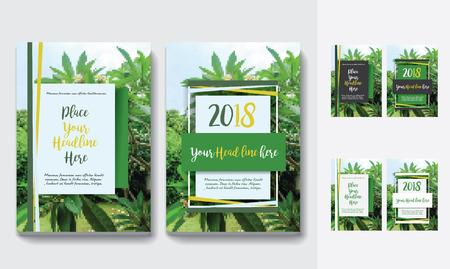 Sfondo di città Business Book Cover Design Template in A4. Può essere adattato a Brochure, Report annuale, Rivista, Poster, Presentazione aziendale, Portfolio, Flyer, banner, sito web Archivio Fotografico - 80906726