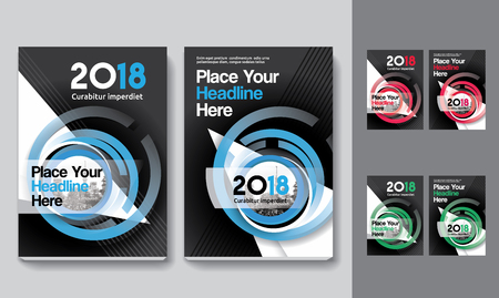 Sfondo di città Business Book Cover Design Template in A4. Può essere adattato a Brochure, Report annuale, Rivista, Poster, Presentazione aziendale, Portfolio, Flyer, banner, sito web Archivio Fotografico - 80906740