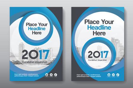 Sfondo di città Business Book Cover Design Template in A4. Può essere adattato a Brochure, Report annuale, Rivista, Poster, Presentazione aziendale, Portfolio, Flyer, banner, sito web Archivio Fotografico - 80906743