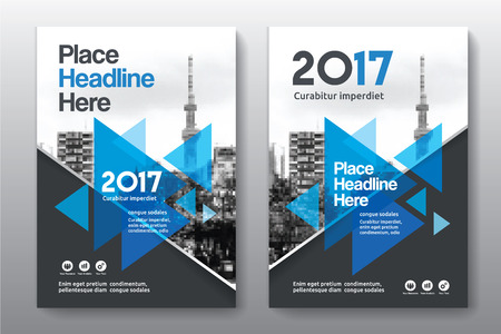 Sfondo di città Business Book Cover Design Template in A4. Può essere adattato a Brochure, Report annuale, Rivista, Poster, Presentazione aziendale, Portfolio, Flyer, banner, sito web Archivio Fotografico - 80906746