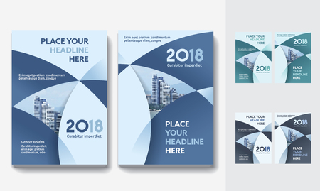 City Background Business Book Cover Design Template in A4. Can be adapt to Brochure, Annual Report, Magazine,Poster, Corporate Presentation, Portfolio, Flyer, Banner, Website Ilustração