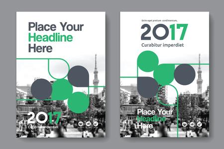 Sfondo di città Business Book Cover Design Template in A4. Può essere adattato a Brochure, Report annuale, Rivista, Poster, Presentazione aziendale, Portfolio, Flyer, banner, sito web Archivio Fotografico - 80906756