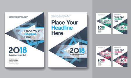 Sfondo di città Business Book Cover Design Template in A4. Può essere adattato a Brochure, Report annuale, Rivista, Poster, Presentazione aziendale, Portfolio, Flyer, banner, sito web Archivio Fotografico - 80906775