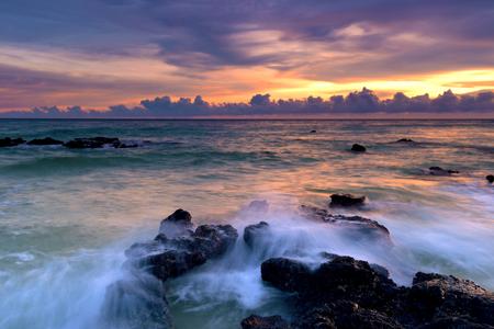 Weizhou Island sunset Stock fotó