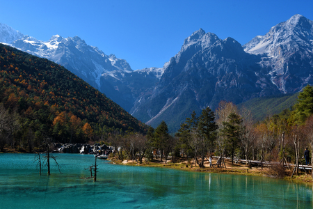 Blue Moon Valley in Lijiang