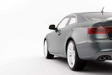 Isoliert Sport Auto auf weißem Hintergrund Standard-Bild - 28774980