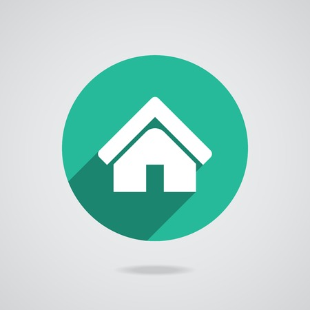 House abstract real estate countryside logo design template. Realty theme icon. Vector