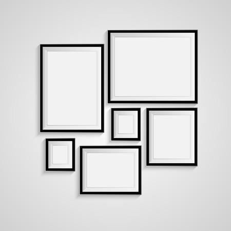 空白の図枠テンプレート設定の分離壁