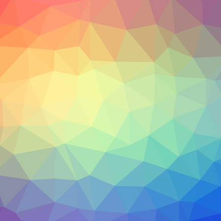Triangle pattern background. Colorful mosaic banners illustration Stock Photo