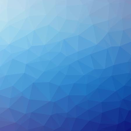 三角形パターンの背景。カラフルなモザイク バナー イラスト