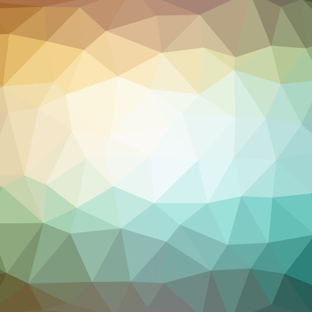 Colorful mosaic banners illustration Stock Photo