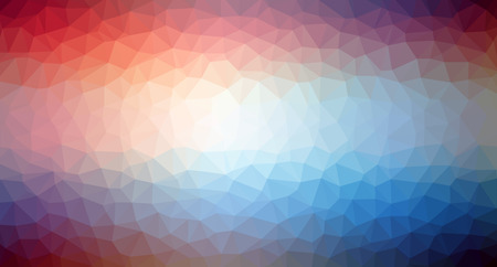 Triangle pattern background in line. Colorful mosaic banners. Vector illustration