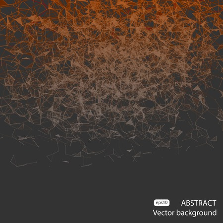 mesh: Abstract polygonal mesh background