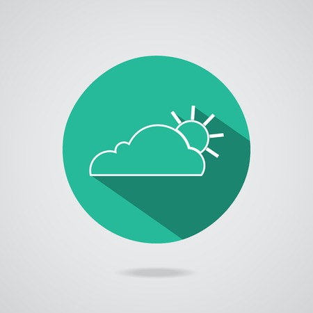 clean environment: Abstract concept cloud on gray background illustration. Magic cloudy clean environment. Your creative conceptual presentation for website internet Teal button.