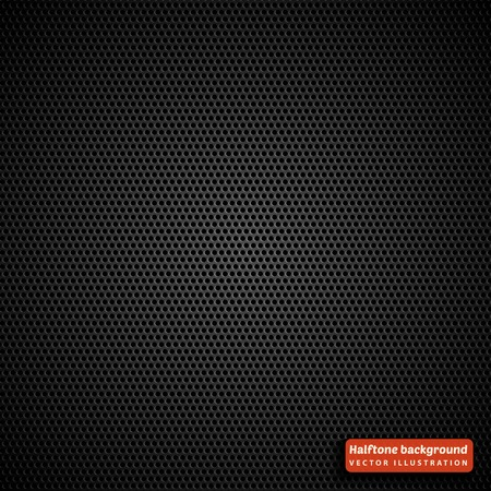 tone: Halftone seamless pattern. Abstract background with black dots.