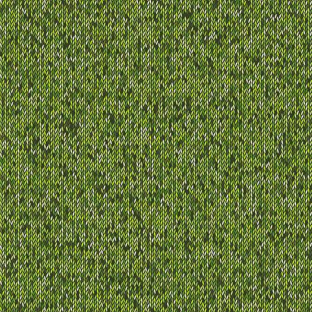woolen: Seamless green knitting pattern. Woolen cloth knitted background.