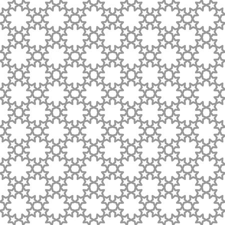 Seamless Geometric Repeating Patterns Grey And White Texture