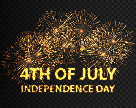 fourth of july: Fourth of July independence day. Vector